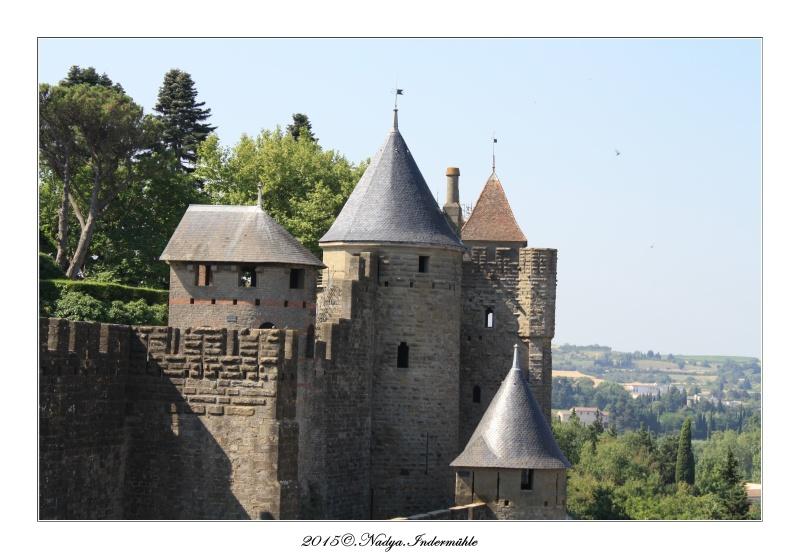 Carcassonne, et sa cité Cadre104