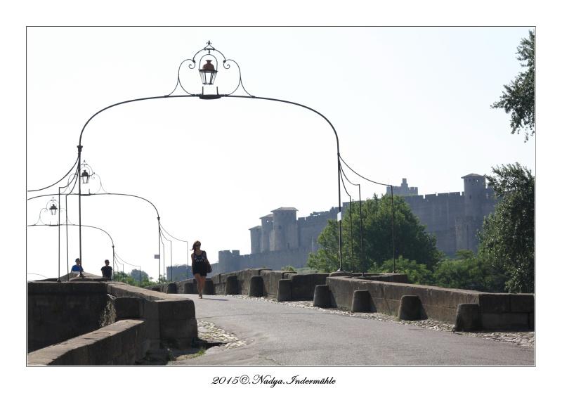 Carcassonne, et sa cité Cadrer30