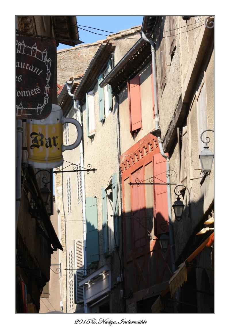 Carcassonne, et sa cité Cadrer55
