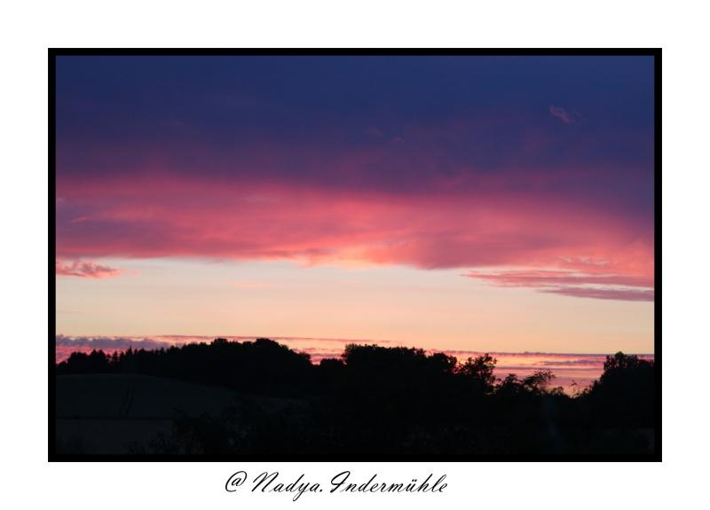 Lever ou coucher de soleil. Cadrim15