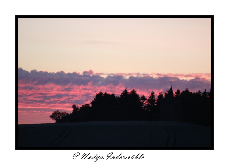 Lever ou coucher de soleil. Cadrim18