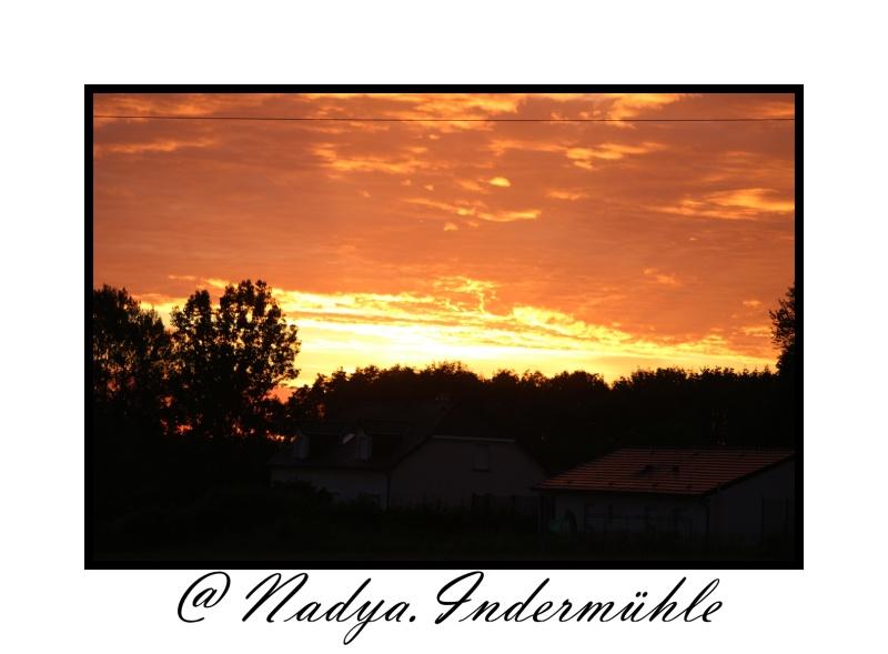 Lever ou coucher de soleil. Cadrim57