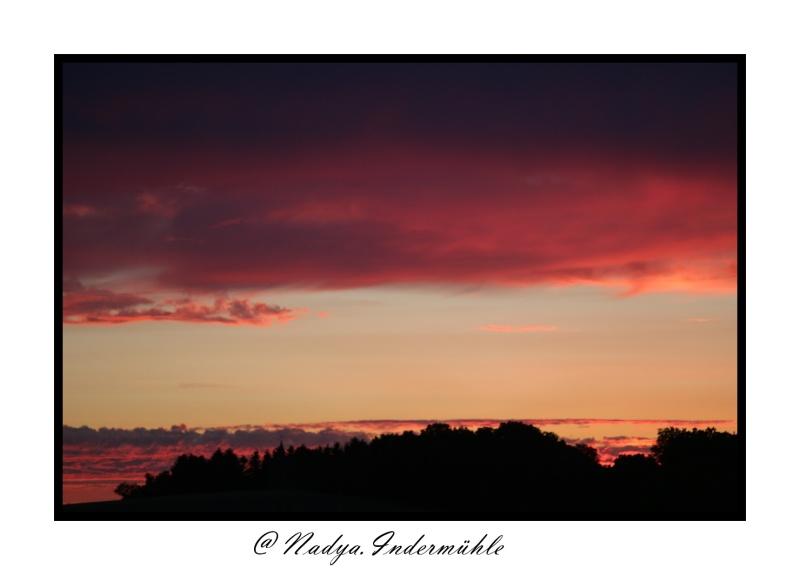 Lever ou coucher de soleil. Cadrim59