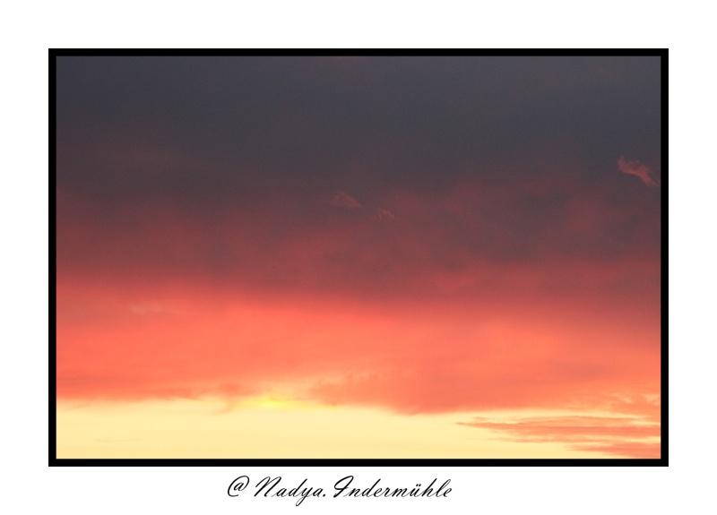 Lever ou coucher de soleil. Cadrim62
