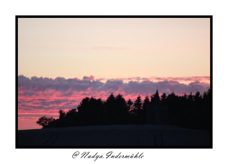 Lever ou coucher de soleil. Cadrim63