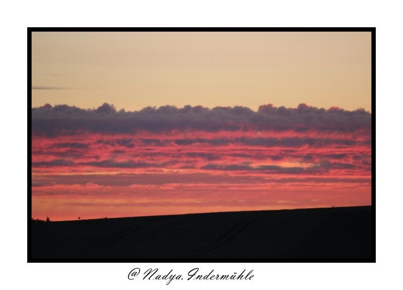 Lever ou coucher de soleil. Cadrim64