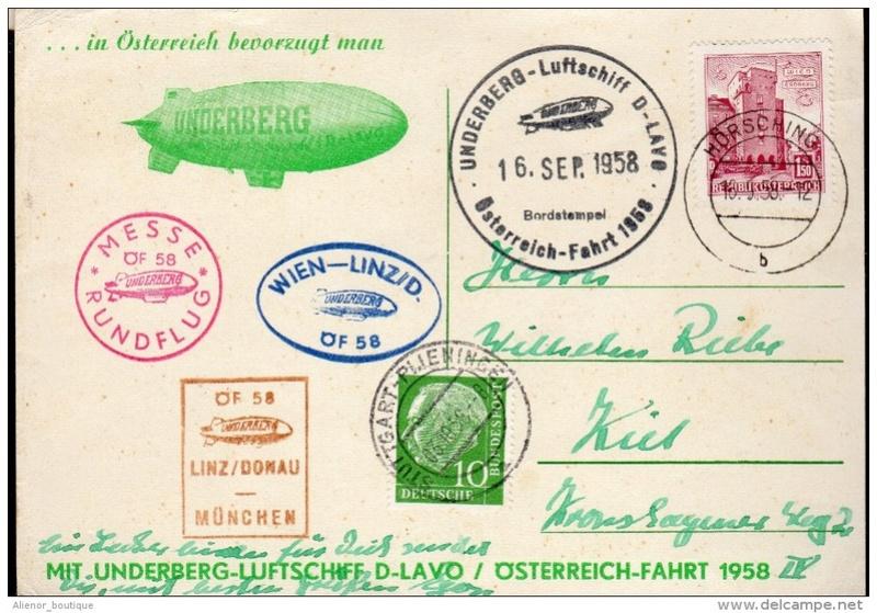 Unterberg Luftschiffpost Österreichfahrt Zzzzzz11