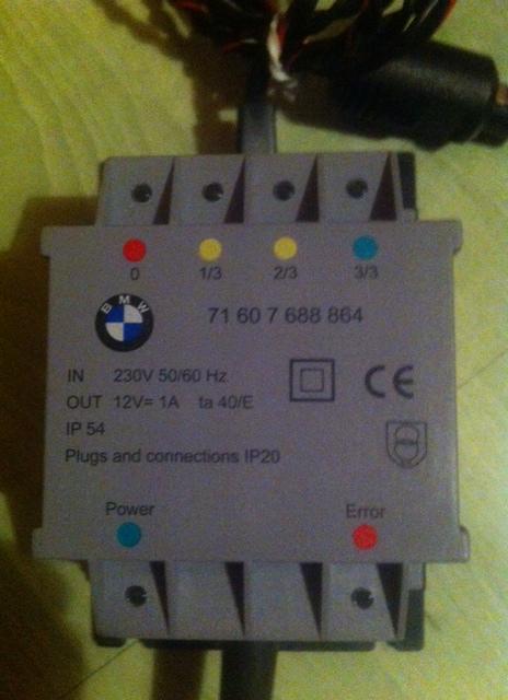 Compatibilité chargeur de batterie BMW Charge10
