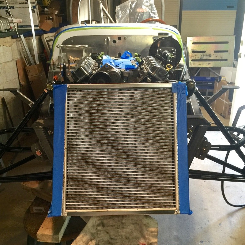 Classic R #27 Build - Cooling System Art-ra11