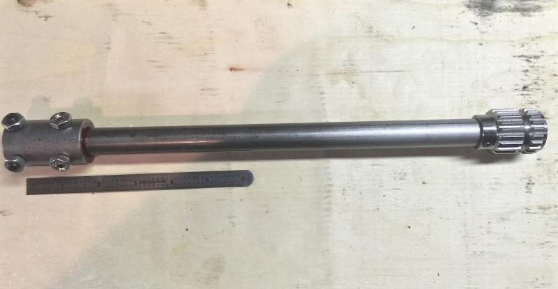 Classic R #27 Build - Steering Shaft Upper-11