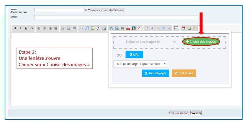 Comment insérer une photo/image Etape210