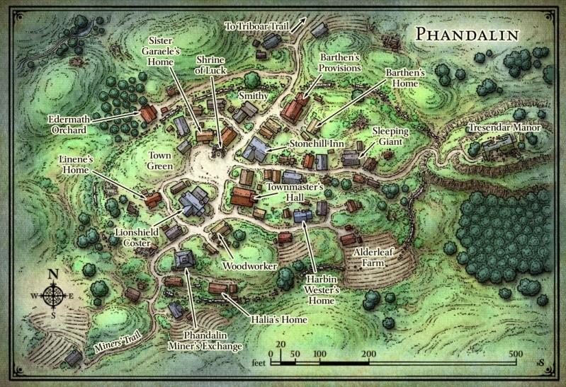 Locations of Merata Phanda11