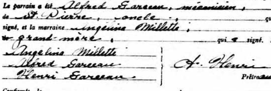 Garceau, Alfred et Angélina Millette Alfred12
