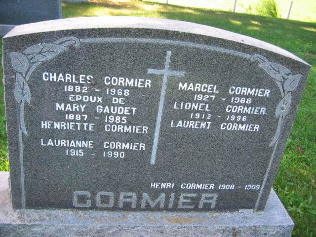Charles Cormier&Mary Gaudet  Cormie10