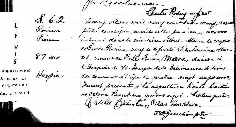 Joseph Pigeon  et Hélène Poirier mariage introuvable D1p_1610