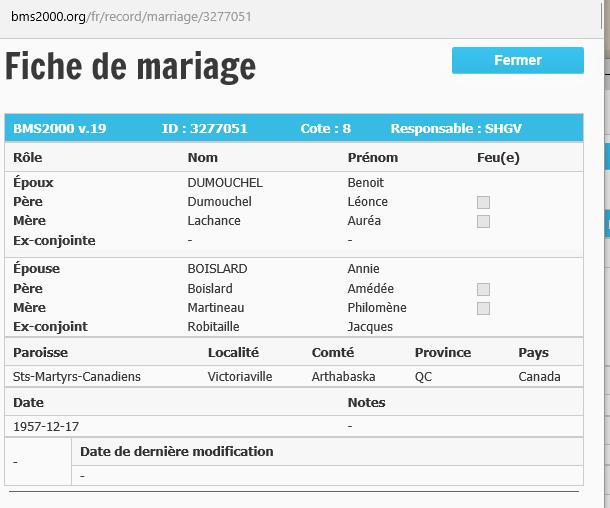 Jacques Robitaille et Annie Boislard Dumouc10