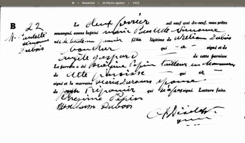 Mariage de William Dubois & Angèle Gaspard Maissa10