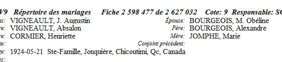 Nécrologie Mme Augustin Vigneau Vignea10