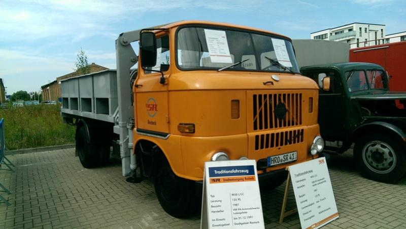 Oldtimer-LKW-Ausstellung, Rostock / Hanse-Sail 2015 Imag0110