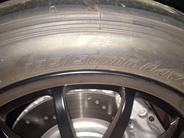 Cerchi forgiati Lotus Elise con gomme  semi slick  Img_5312