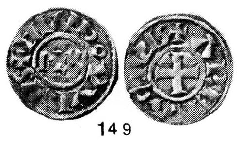 Très rare obole de Louis L'Aveugle, Roi de Provence ... Montpe10