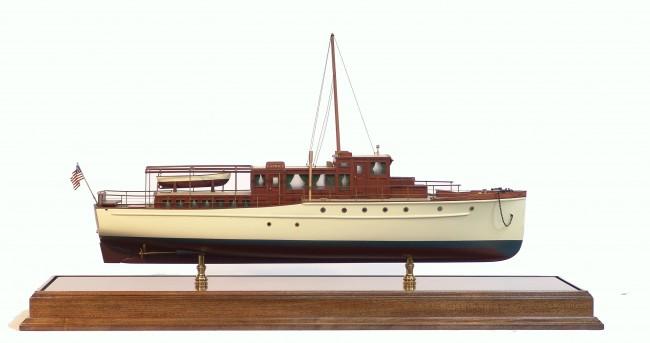 Yacht  classique à moteur 1920 / 1930 NEMESIS 89106010
