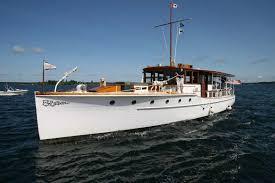 Yacht  classique à moteur 1920 / 1930 NEMESIS Images10