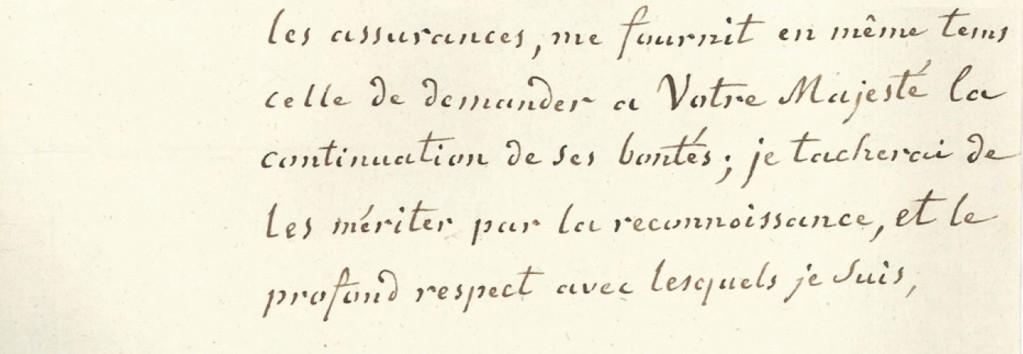 lettres de la princesse de Lamballe Zducre11