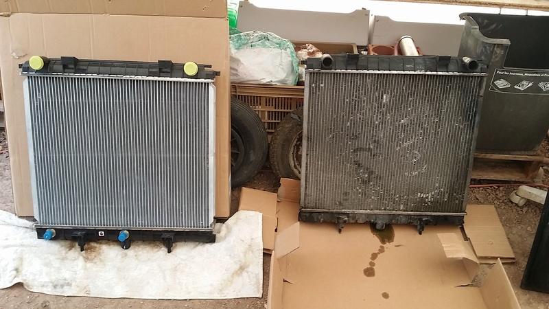 Radiateur de refroidissement moteur Diesel BA 20160816