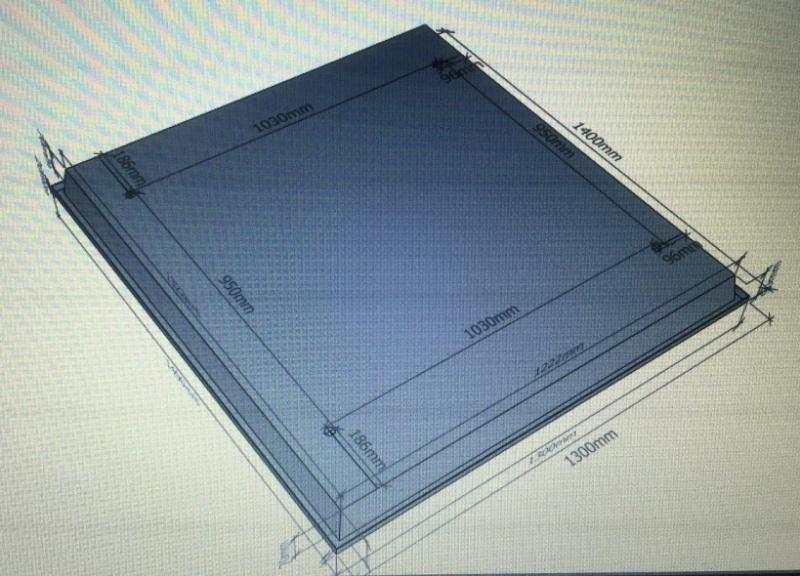 plan du toit sur cabine 551  Img_0015