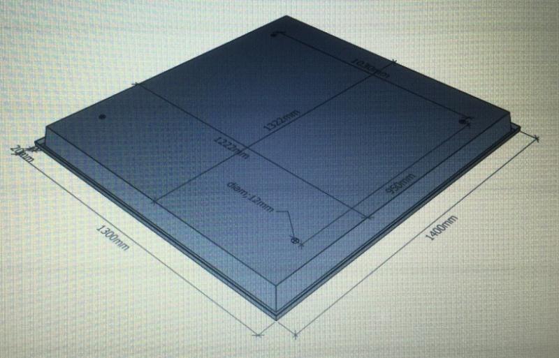 plan du toit sur cabine 551  Img_0018