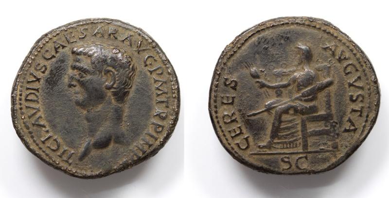 CLAUDIUS. 41-54 CERES AVGVSTA Indentification Vrai ou Faux ? Ensemb10