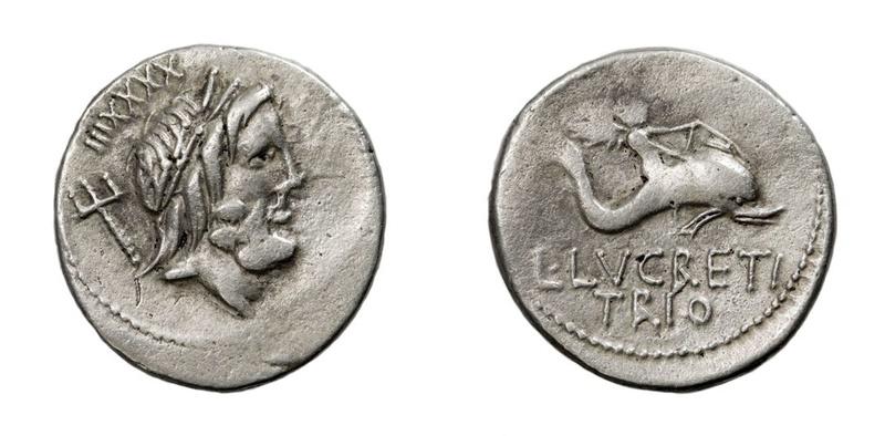 L. Lucretius Trio, Denarius Poids Faible ?? Poids_10
