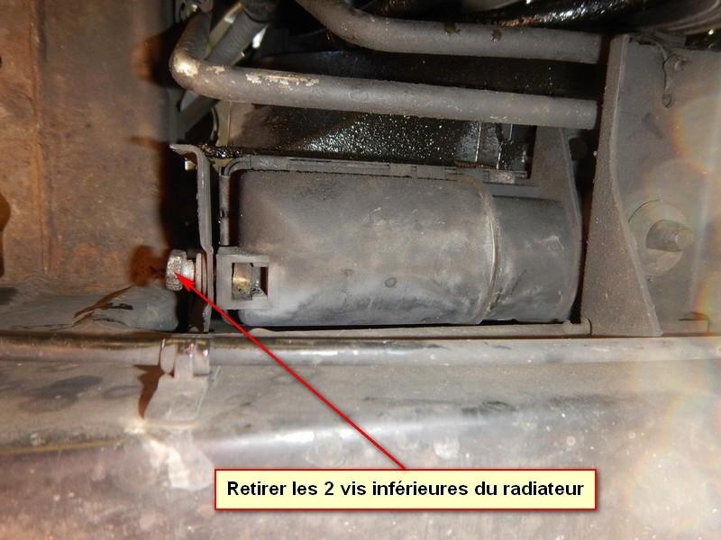 TUTO : Changement radiateur moteur sur V8 4.6 Thor Dscn4214