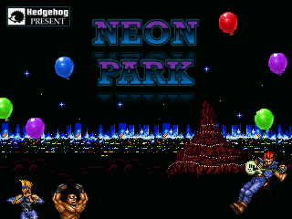 Neon Park PACK (SOR 25th anniversary celebration) Title11