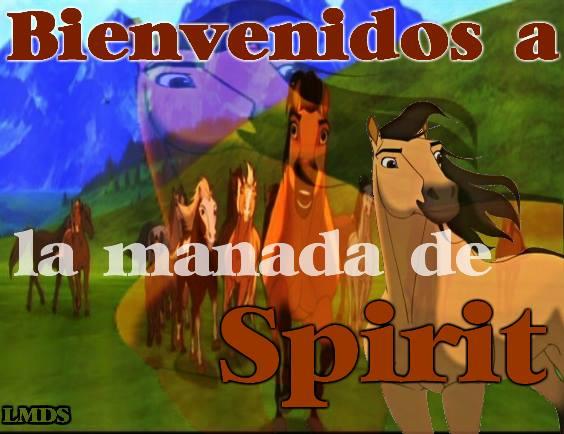 La manada de Spirit El Corcel Indomable
