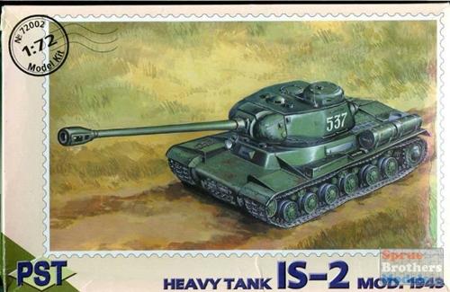IS-2 Tank lourd PST 1/72 Pst72010
