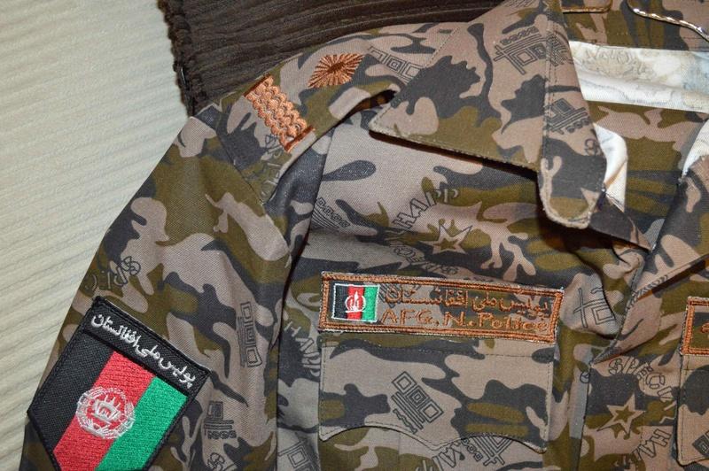 AFGHAN Uniforms Funky-11
