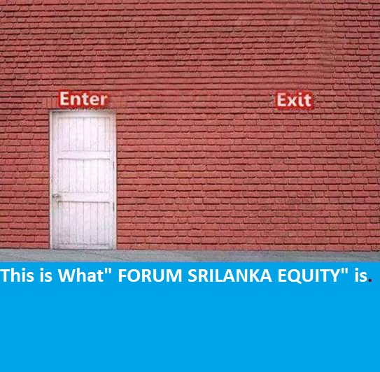 """This is what """"forum srilankaequity"""" is. S10"""