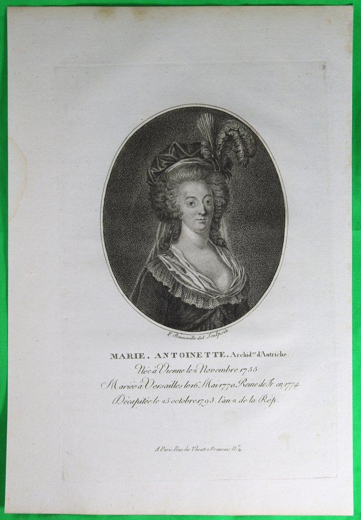 Marie-Antoinette au livre en robe bleue - Page 2 Estamp10