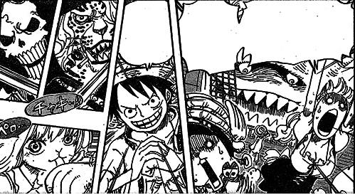 One Piece Manga 829: Spoiler 410
