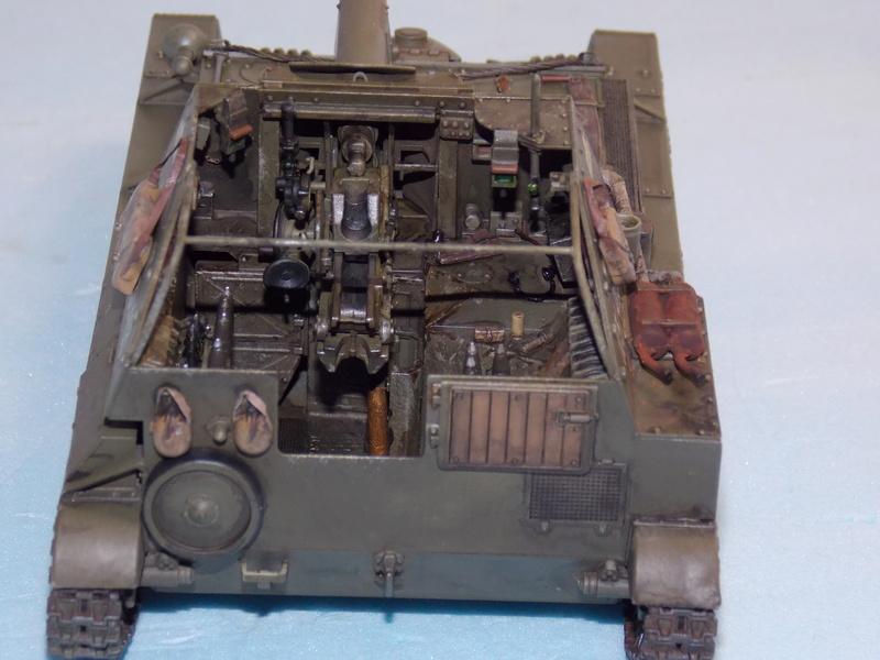 SU 76 M Tamiya et ruine Verlinden 1/35 - Page 4 Dscn4323