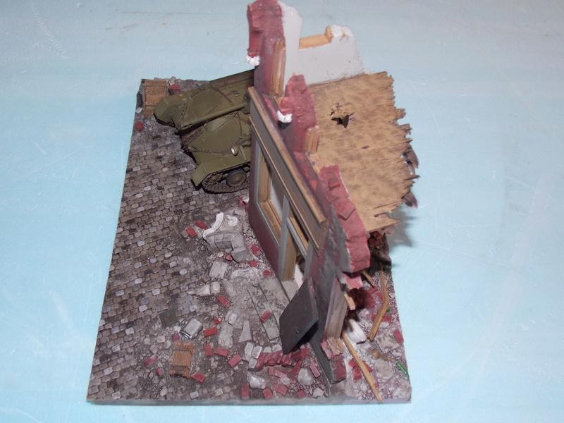 SU 76 M Tamiya et ruine Verlinden 1/35 - Page 4 Dscn4325