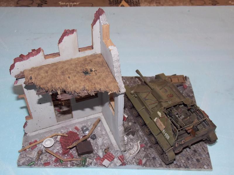 SU 76 M Tamiya et ruine Verlinden 1/35 - Page 4 Dscn4326