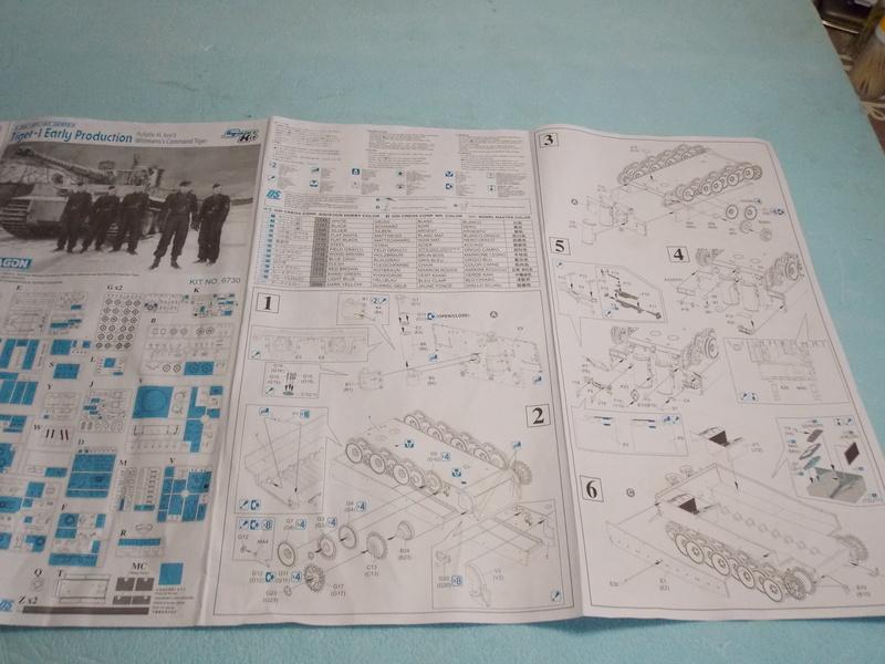 TIGRE S33  avant la bataille de Koursk juillet 43 (Dragon 1/35 dio DIODUMP) Dscn4528