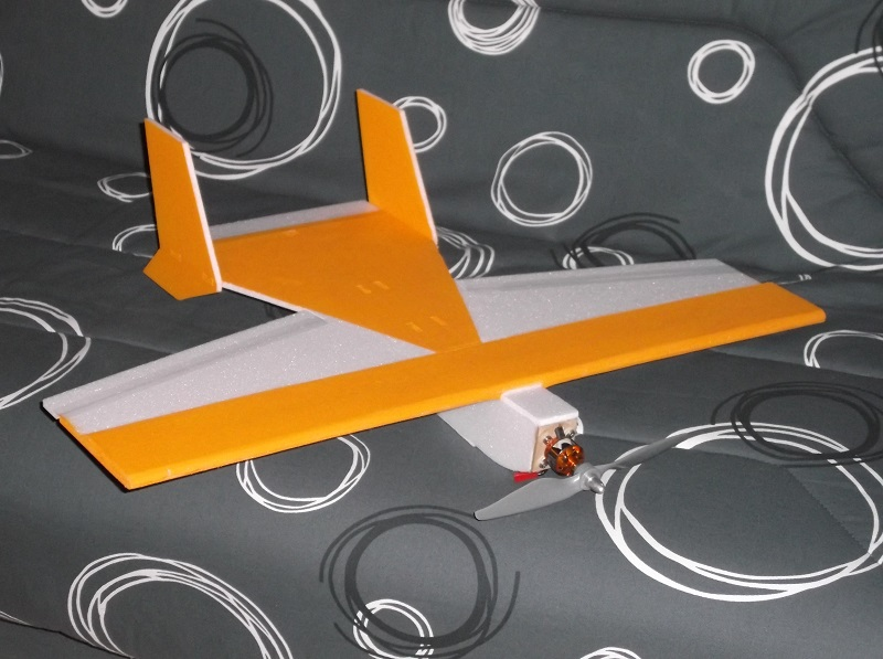 Plan de la Funbat, mi avion, mi aile volante, mais très Fun Funbat10