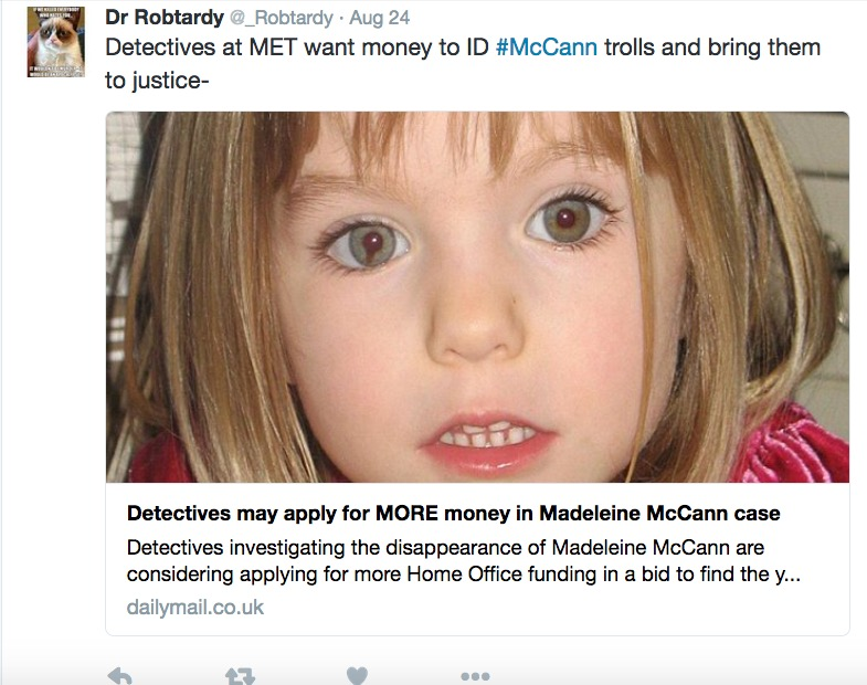 When one Brenda Leyand just isn't enough for the McCann supporters Screen12