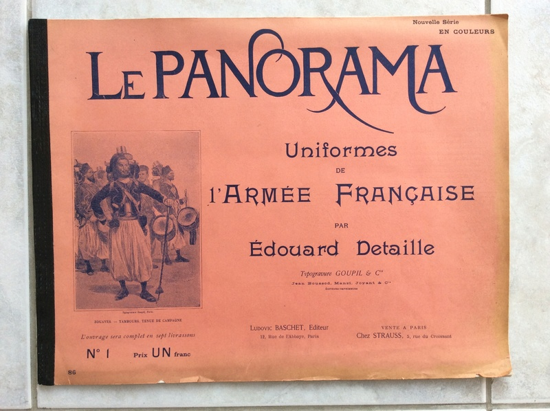 Le panorama uniforme de l'armée Française 1885 -ESC 1 baisse à clore Image20