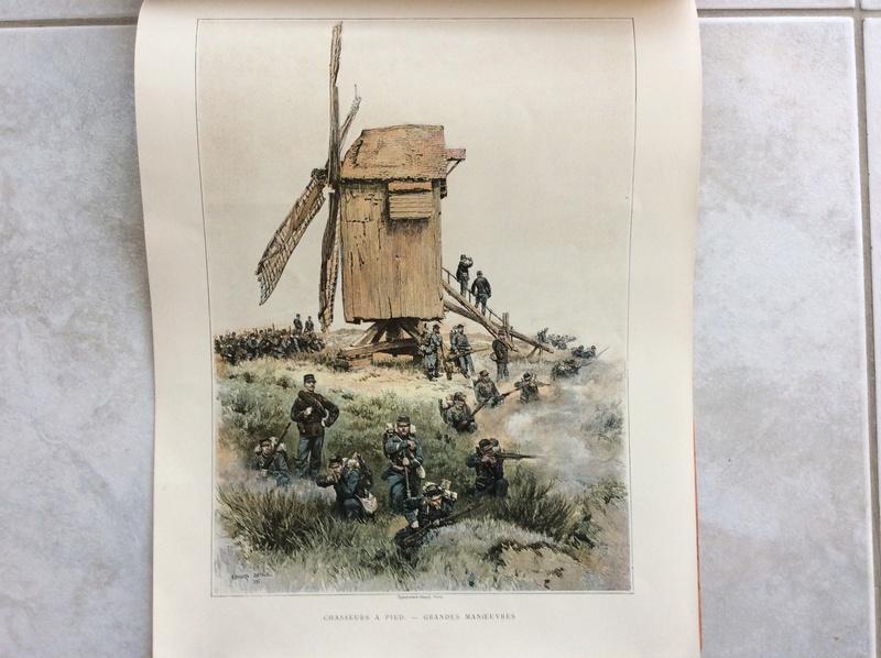 Le panorama uniforme de l'armée Française 1885 -ESC 1 baisse à clore Image21