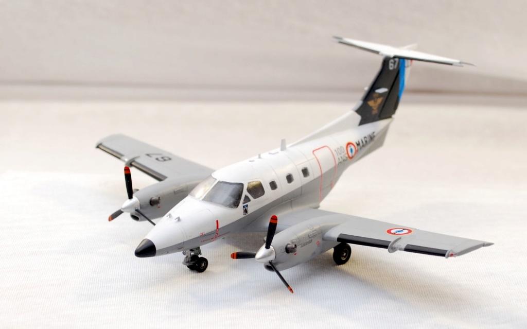 """Embraer EMB-121AN Xingu """"100ans Aéronautique Navale"""" (Amodel 72364) 1/72 0110"""